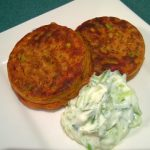 Zucchini and Beetroot Fritters